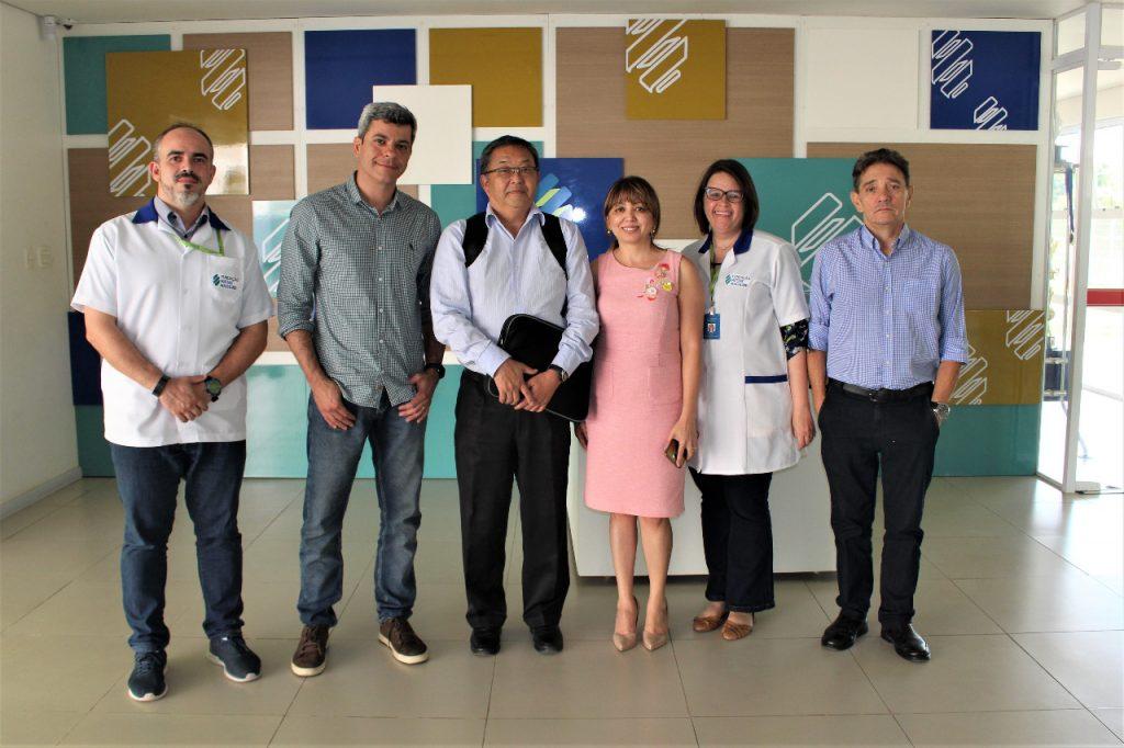 Equipe de Captação, Diretoria de Ensino e representantes da Citybank.