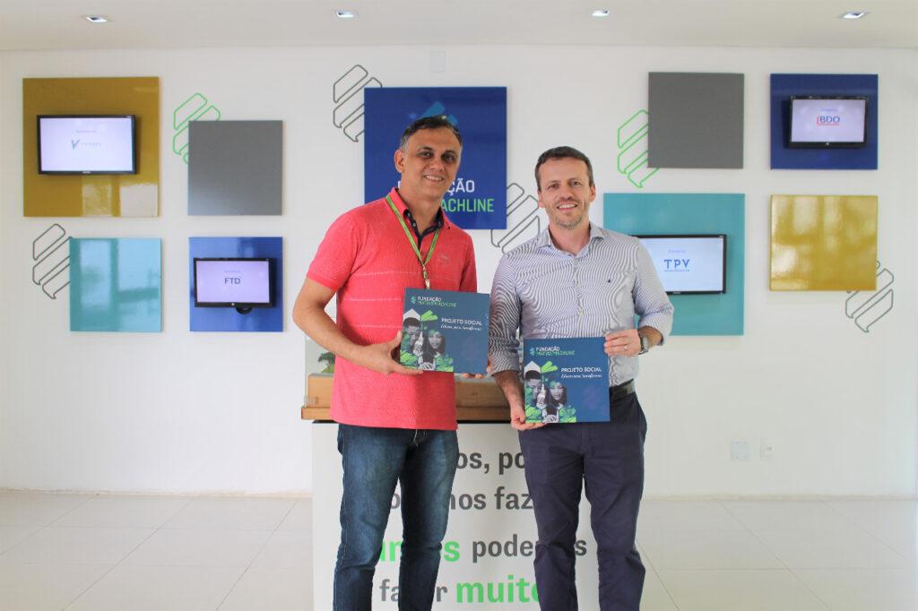 Adson Zacarias - Institucional e de Parcerias e Rafael Lourenço - Yamaha
